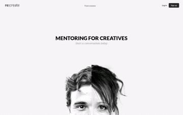 Mentoring for Creatives Web Design