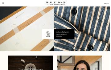 Tripl Stitched Web Design