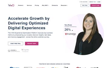 VWO Experience Optimization Platform Web Design