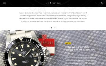 10 Past Ten Web Design