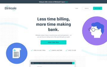 Blinksale Web Design
