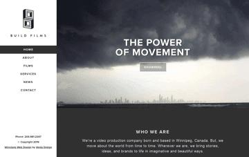 Build Films Web Design