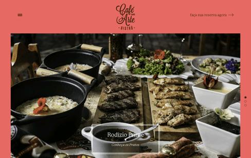 Café com Arte Web Design