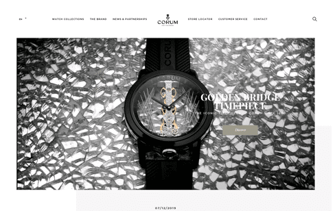 CORUM Web Design