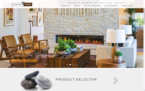 Eldorado Stone Web Design