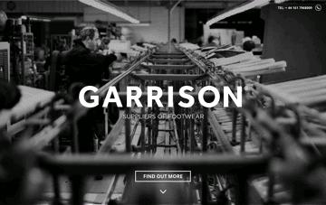 Garrison Footwear Web Design