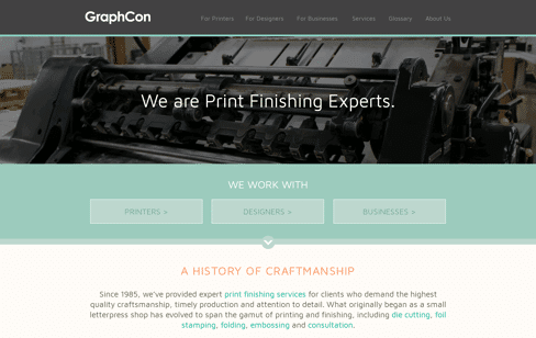 Graphcon Web Design