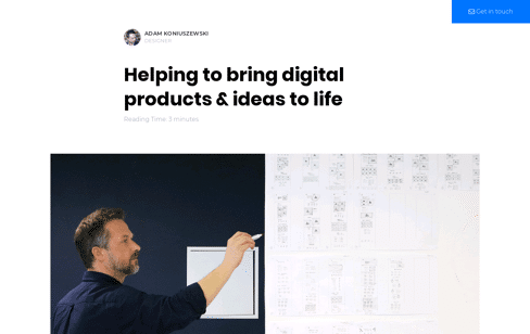 Adam Koniuszewski Web Design