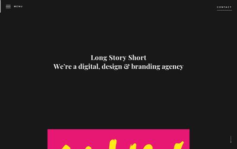 Long Story Short Design Web Design