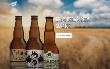 Alley Kat Brewing Company Web Design