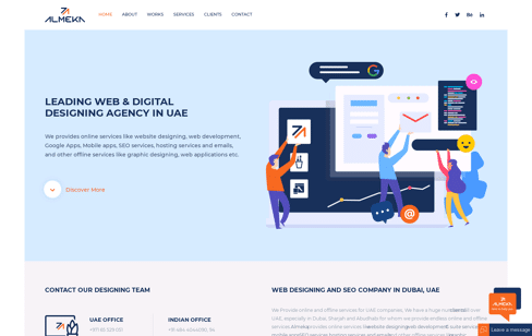 Almeka Web Design