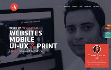Atulesh Kumar Web Design