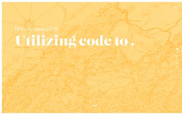 Erik Zuuring Designer & Front-End Developer Web Design