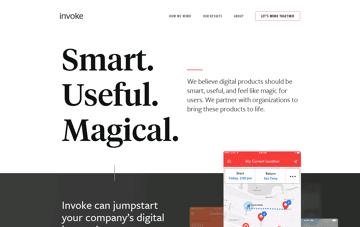 Invoke Media Web Design