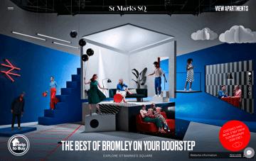 St. Mark Sq. Web Design