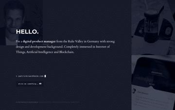 Patrick Rueckheim Web Design