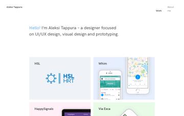 Aleksi Tappura Web Design