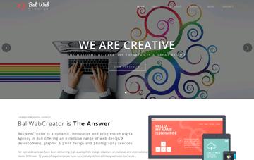 Bali Web Design Web Design