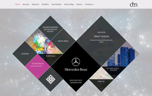Digital Mosaic Web Design