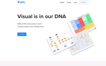 Gliffy Diagramming Software Web Design