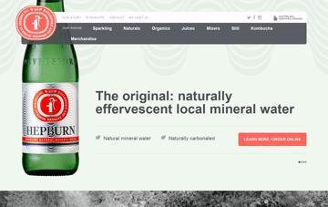 Daylesford and Hepburn Mineral Springs Web Design