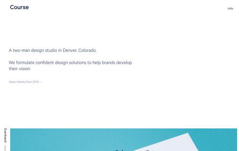 Course Design Studio Web Design
