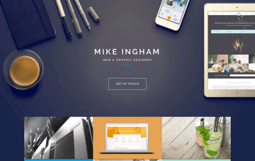Mike Ingham Design Web Design