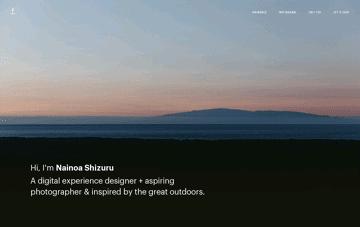 Nainoa Shizuru Web Design