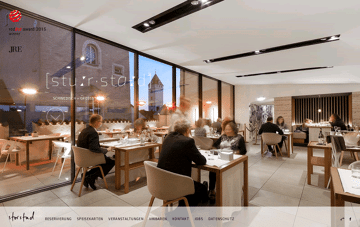 Restaurant Storstad Web Design