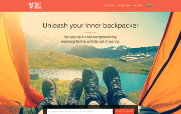 Trip Sniffer Web Design
