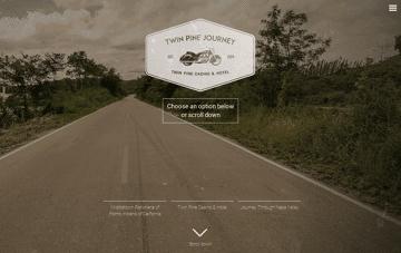 Twin Pine Journey Web Design