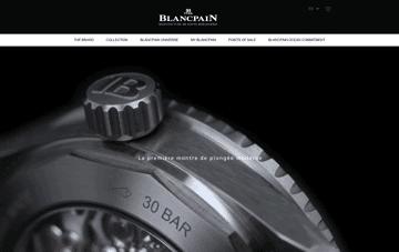 Blancpain Web Design