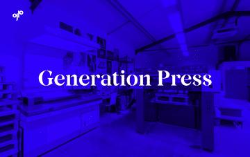 Generation Press  Web Design