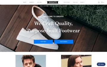greats.com Web Design