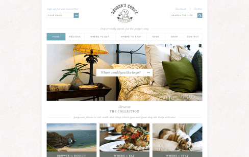 Hudson's Choice Web Design