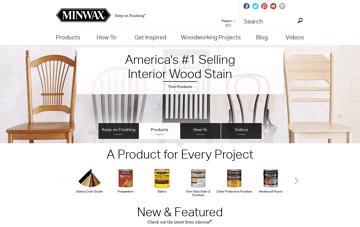 Minwax Web Design