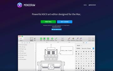 Monodraw Web Design