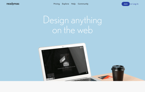 Readymag Web Design