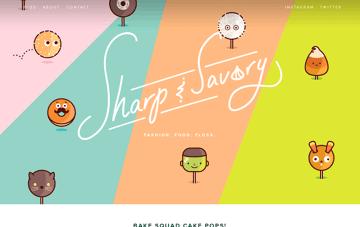 Sharp & Savory Web Design