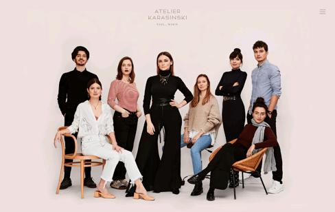 Atelier Karasinski Web Design