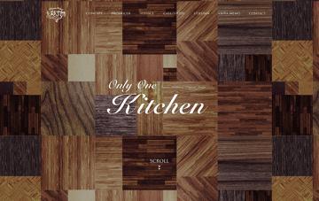 キッチンをデザインする Web Design