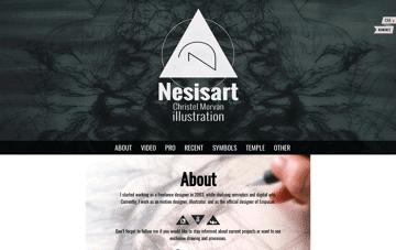 Nesisart Web Design