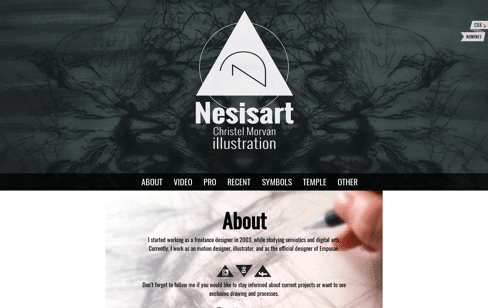 Nesisart Web Design