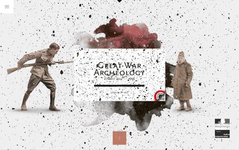 Archéologie de la Grande Guerre Web Design
