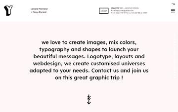 YAY, atelier de création graphique Web Design