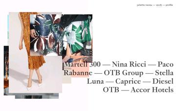 juliette n digital designer Web Design