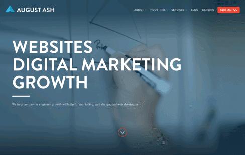 August Ash Web Design