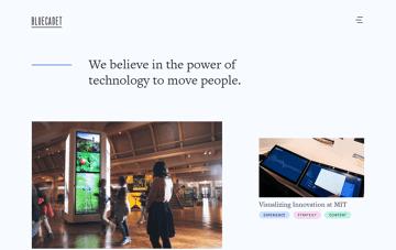 Bluecadet Web Design