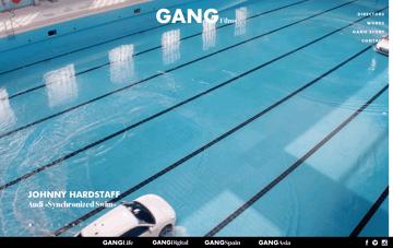 Gang Films Web Design