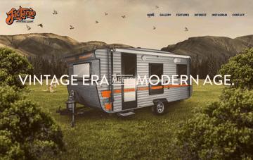 Jackaroo Caravans Web Design